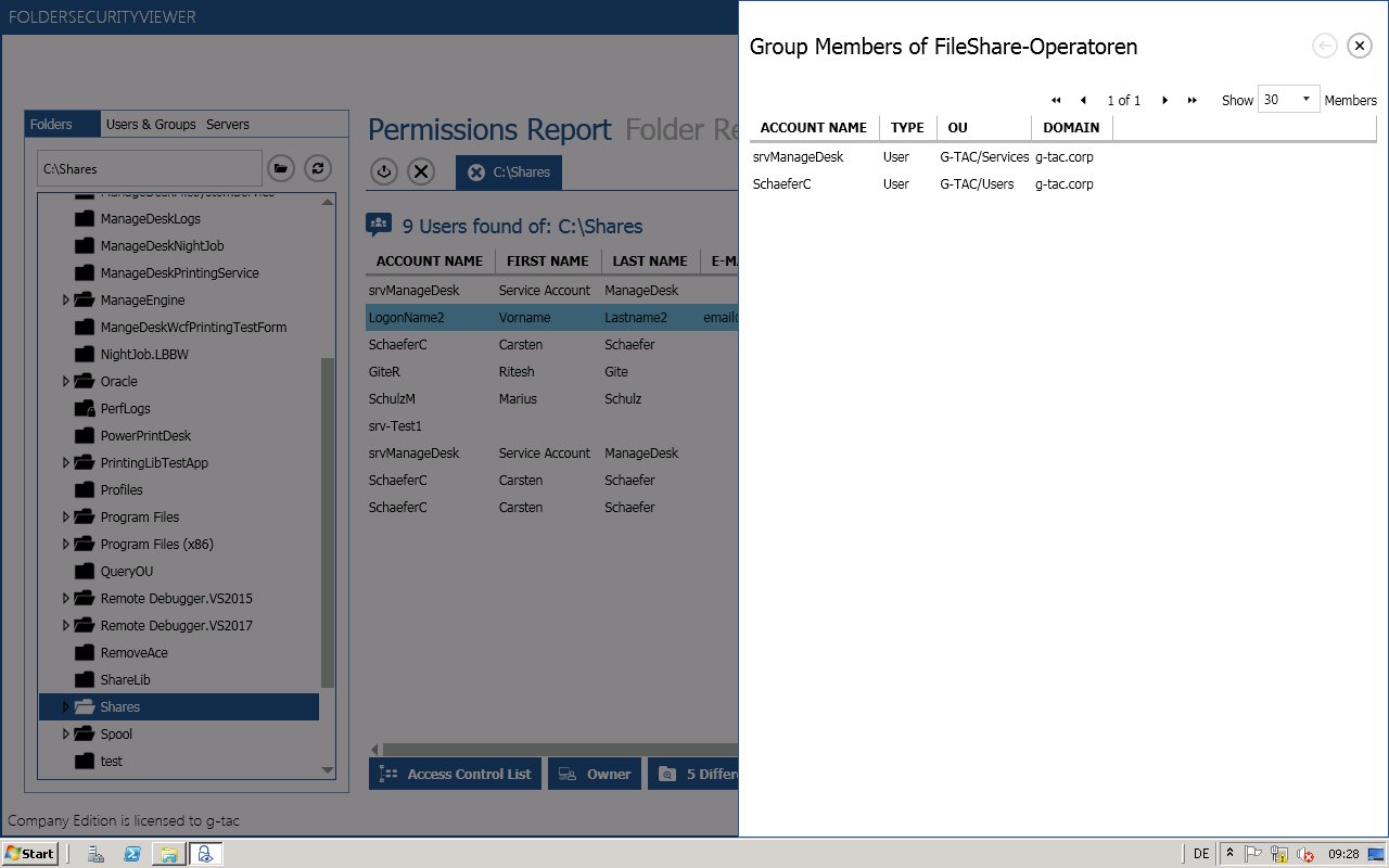 Show group members (direct and nested) directly in your reports.