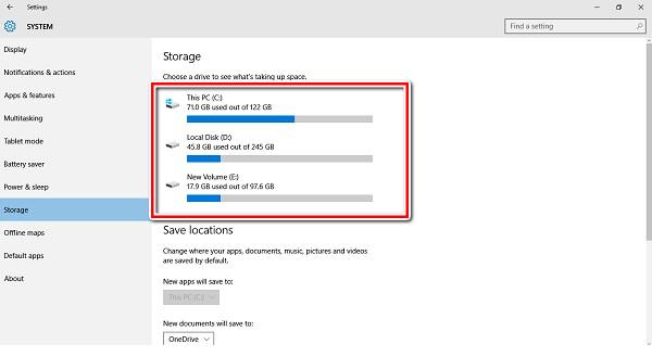 Windows 10 in-built tool
